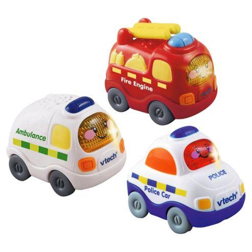 Vtech Toot-Toot Vehicles 3Pack Emergency Set