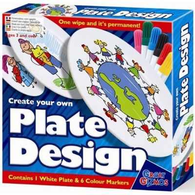 Great Gizmos Create Your Own Plate Design