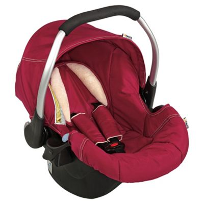 Hauck Zero Plus Comfort Car Seat Group 0+, Plum
