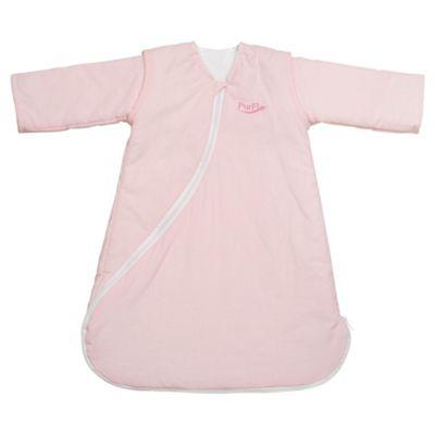 Purflo Baby 1 Tog Sleepsac, 0-3 Months,  Light Pink