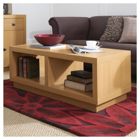 Torino Coffee Table, Oak-Effect