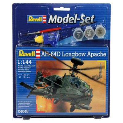 Revell AH-64D Longbow Apache 1:144 Scale Model Set