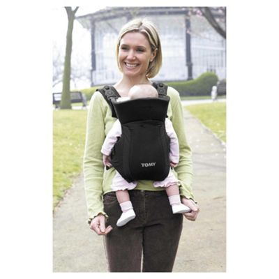 Tomy Freestyle Baby Carrier, Premier Black