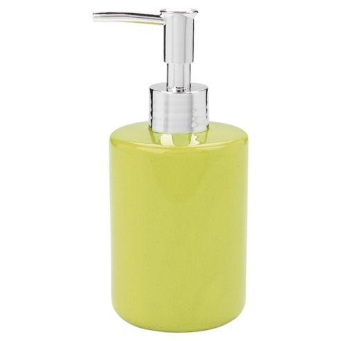 Tesco soap dispenser, green