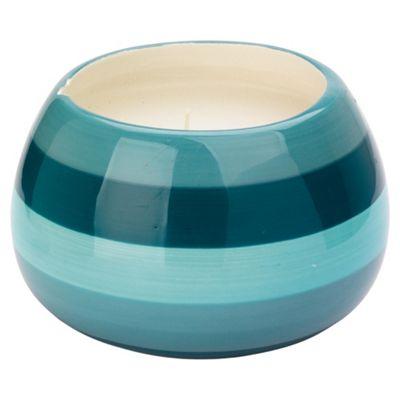 Tesco ceramic filled pot candle