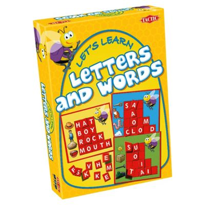 Let's Learn Letters & Words