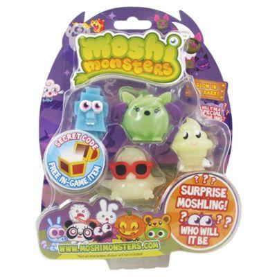 Moshi Monsters Halloween Series 1 Blister Pack Glow in the Dark