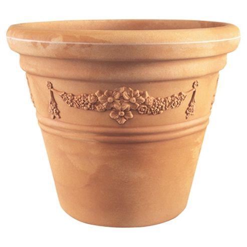Large Garland Pot Terracotta W51cmxH43cm