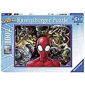 Spiderman 'Force' XXL 100 Piece Jigsaw Puzzle Game