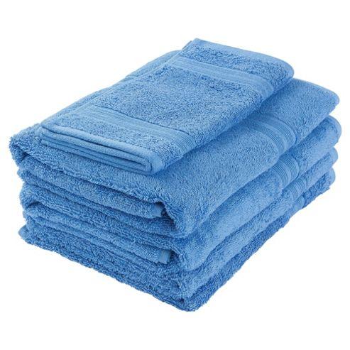 Tesco Towel Bale Royal Blue