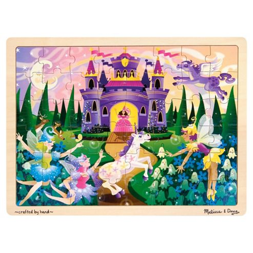 Melissa & Doug Fairy Fantasy 48 Piece Wooden Jigsaw Puzzle