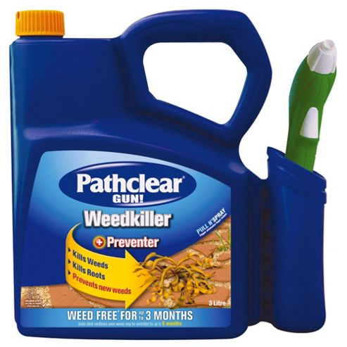 Pathclear Weedkiller Gun & Solution, 3L