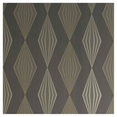 Dulux Graphika Wallpaper, Taupe
