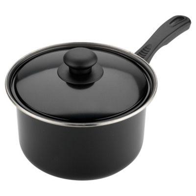 Tesco Basics 20cm Saucepan