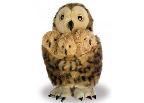 The Puppet Company Tawny Owl & 3 Babies Puppet