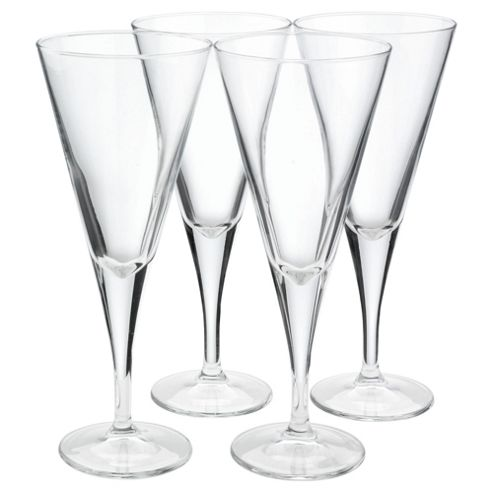 Set of 4 Conical Wine Glasses