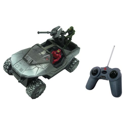 Mega Bloks Halo Artic Warthog Radio Controlled Vehicle And 2 Figs