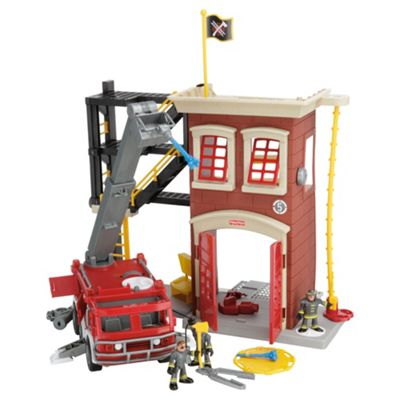 Fisher Price Imaginext Firestation Engine