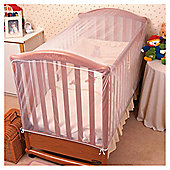 Cot Insect Net - 135 x 67 x 67cm, White