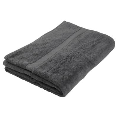 Finest Pima Bath Sheet Charcoal
