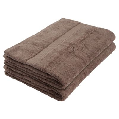 Finest Bath Towel Pair Taupe