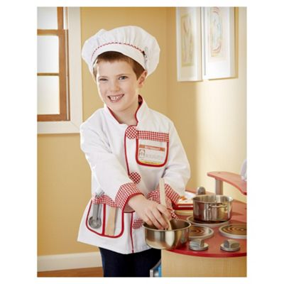 Melissa & Doug Chef Outfit Dress Up Set