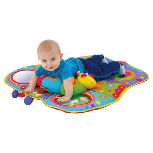 Galt Tummy Time Colourful Butterfly Baby Playmat