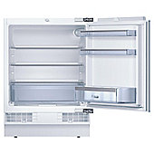 Bosch KUR15A50GB Under Counter Built in Larder Fridge, Capacity 141 litres, Energy Rating A+, Width 60.0cm. White