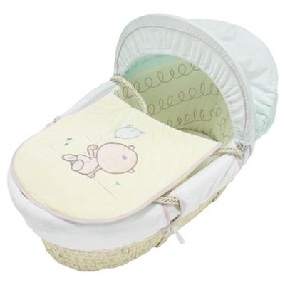 Lollipop Lane Treacle & Bubble Moses Basket, Maize