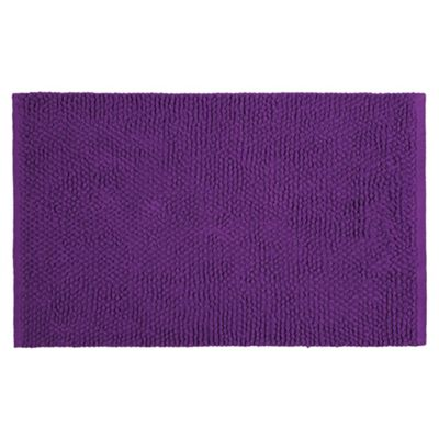 Tesco Chenille Loop Mat Purple