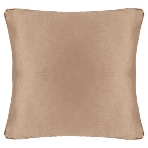 Tesco Set Of 2 Faux Silk Cushions, Gold
