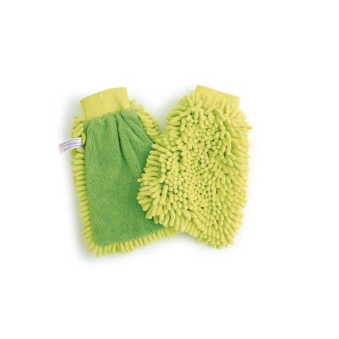 Polishing Glove Mitt, Green