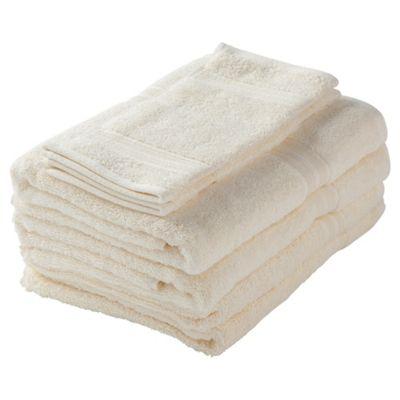 Tesco Towel Bale Cream