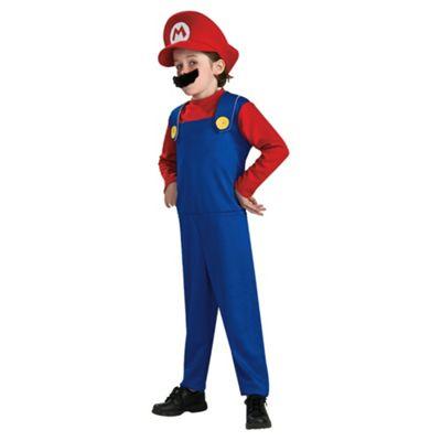 Super Mario Fancy Dress Costume 1-2 years