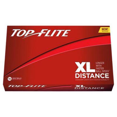 Top Flite XL Distance 15 Golf Ball Pack Red