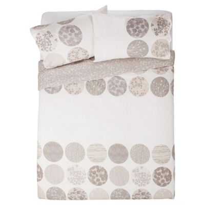Botanical Circles Duvet Cover Set Kingsize