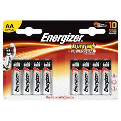 Energizer Ultra Plus 8 Pack AA batteries