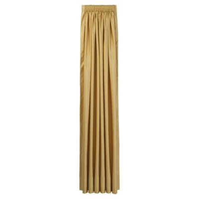 Tesco Faux Silk Lined pencil pleat Curtains W163xL137cm (64x54