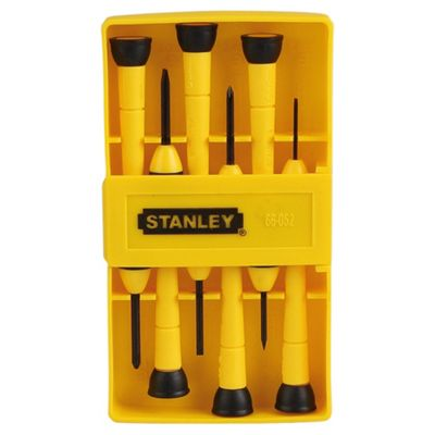 Stanley 6 Piece Precision Screwdriver Set