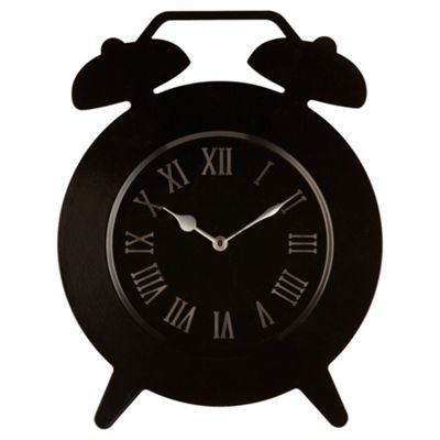 Tesco Clocks Double Bell Wall Clock