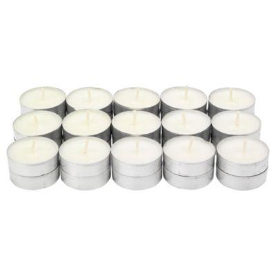 Tesco clean linen tealights, 30 pack