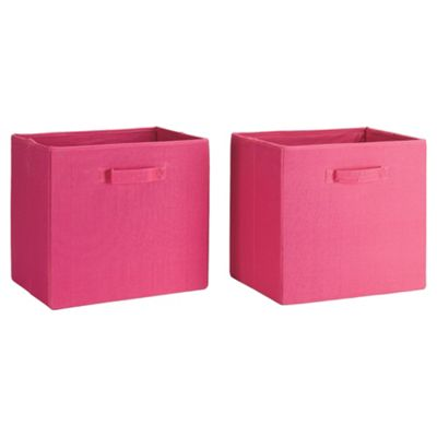 Seattle Kids Canvas Drawer Set 2 Pink