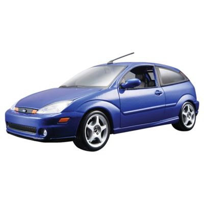 Bburago 1/24 Ford Svt Focus - Met Blue