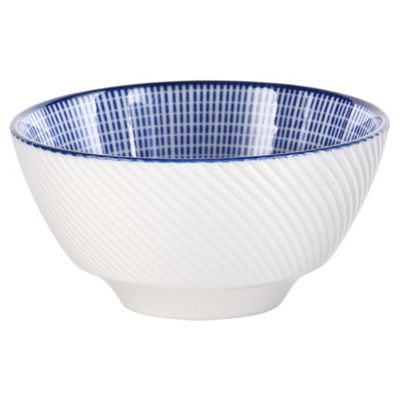 Oriental Blue Medium Bowl  sc 1 st  Tesco : tesco tableware - Pezcame.Com