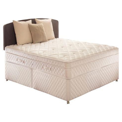 Sealy Double Divan Bed, Diamond Excellence, Non-Storage