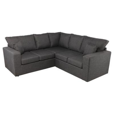 Maison Fabric Corner Sofa Gunmetal