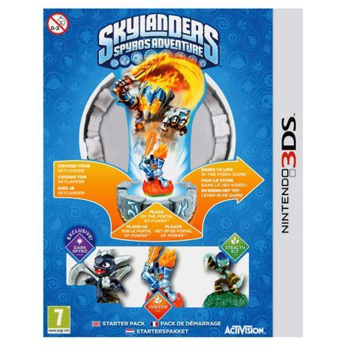 Skylanders Spyro's Adventure - Starter Pack 3DS