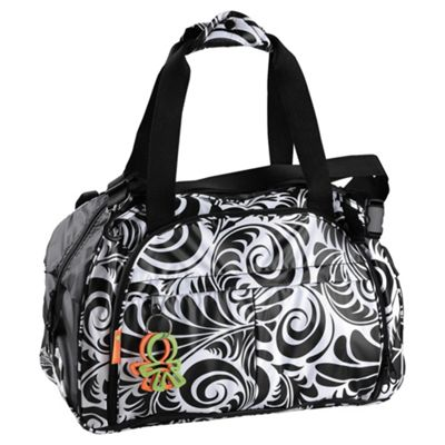 Great Gizmos Okiedog Equinox Shuttle Travel Baby Changing Bag, Black/White