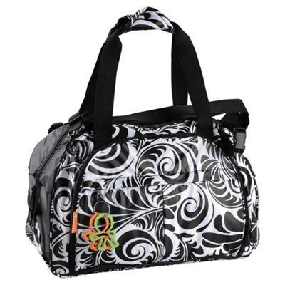 Great Gizmos Okiedog Equinox Shuttle Travel Baby Changing Bag, Black/White