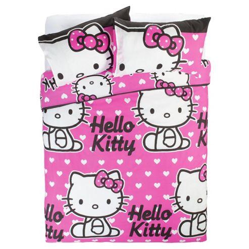 Hello Kitty Duvet Set Double
